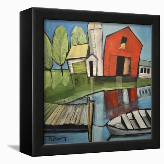 Lakeside Farm-Tim Nyberg-Framed Premier Image Canvas