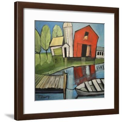 Lakeside Farm-Tim Nyberg-Framed Giclee Print
