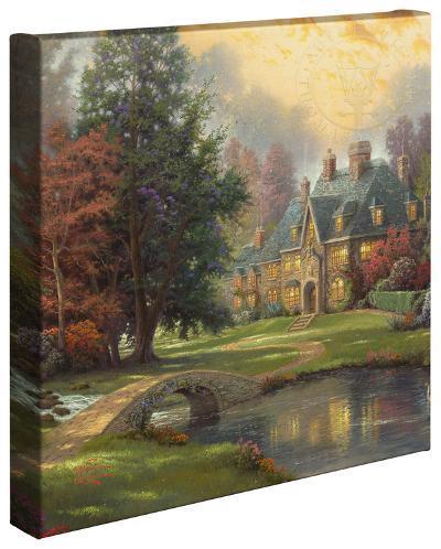 Lakeside Manor-Thomas Kinkade-Gallery Wrapped Canvas