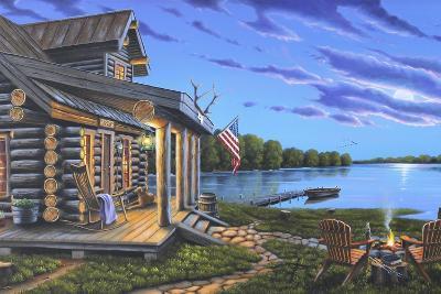 Lakeside Retreat-Geno Peoples-Giclee Print