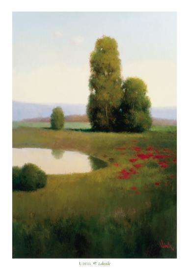Lakeside-Udell-Art Print