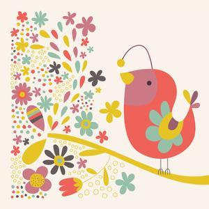 Birdie Num Nums III Sq by Lamai McCartan