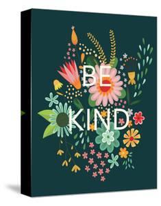 Groovy Florals I Be Kind by Lamai McCartan