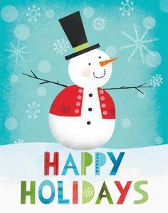 Merry Snowman I by Lamai McCartan
