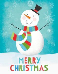 Merry Snowman III by Lamai McCartan
