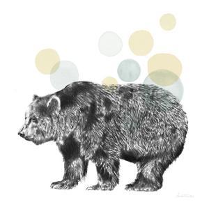 Sketchbook Lodge Bear Neutral by Lamai McCartan