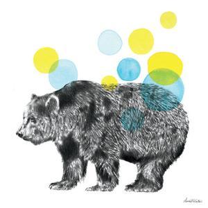 Sketchbook Lodge Bear by Lamai McCartan