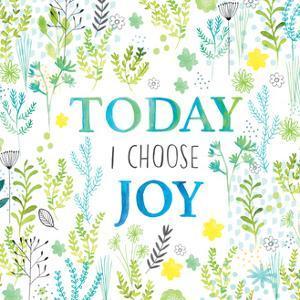 Today I Choose Floral by Lamai McCartan