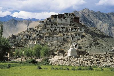 Lamaist Monastery of Thiksey, 15th Century, Ladakh, India--Photographic Print