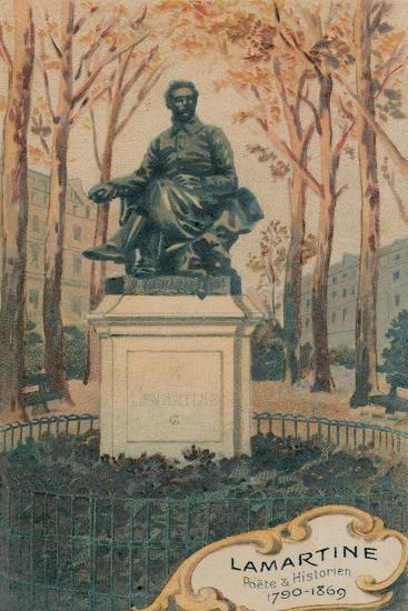 Lamartine, Poete and Historien, 1790-1869, Erigee Avenue Henri Martin--Giclee Print