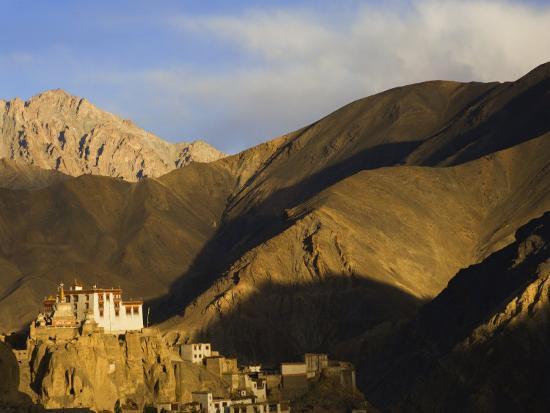 Lamayuru Gompa (Monastery), Lamayuru, Ladakh, Indian Himalayas, India-Jochen Schlenker-Photographic Print