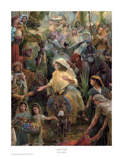 Lamb Of God-Tom duBois-Art Print