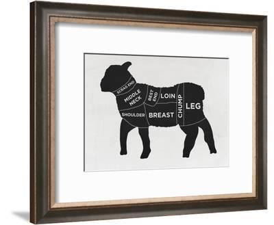 Lamb--Framed Art Print