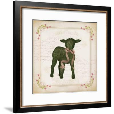 Lamb-Jennifer Pugh-Framed Art Print