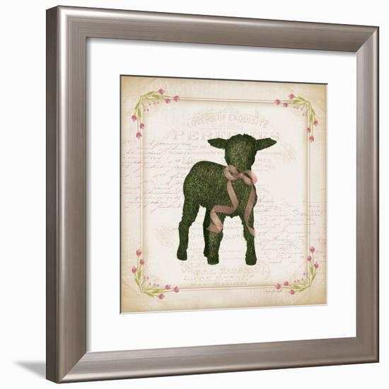 Lamb-Jennifer Pugh-Framed Art Print