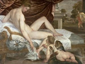 Venus and Cupid, c.1555 by Lambert Sustris