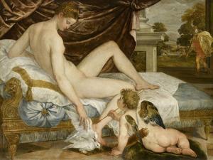 Vénus et l'amour by Lambert Sustris