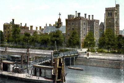 Lambeth Palace, London, 20th Century--Giclee Print