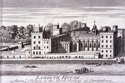 Lambeth Palace, London, C1720--Giclee Print