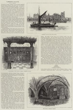 Lambeth Palace--Giclee Print