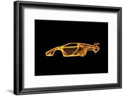 Lamborghini Countach-Octavian Mielu-Framed Art Print