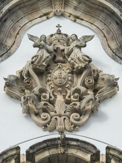 Lamego, Portugal, Shrine of Our Lady of Remedies, Relief Sculpture-Jim Engelbrecht-Photographic Print