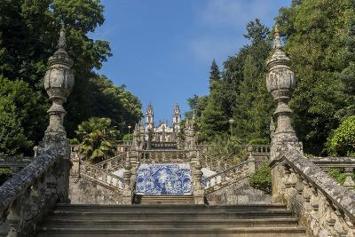 Lamego, Portugal, Shrine of Our Lady of Remedies Steps-Jim Engelbrecht-Photographic Print