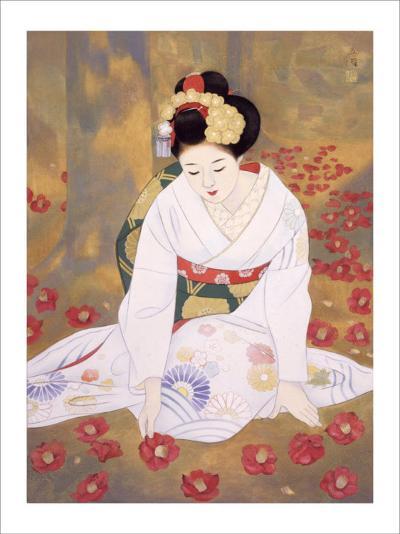 Lament at End of Spring-Goyo Otake-Giclee Print