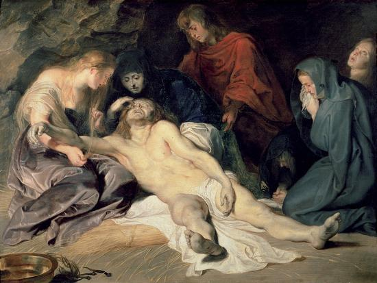 Lament of Christ, 1614-Peter Paul Rubens-Giclee Print