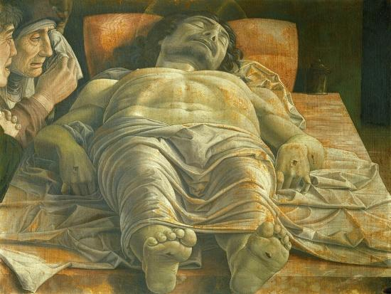 Lamentation of Christ, Ca. 1480-Andrea Mategna-Giclee Print