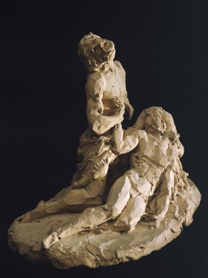 Lamentation of Christ-Antonio Canova-Giclee Print