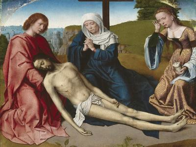Lamentation over the Body of Christ, C.1500-Gerard David-Giclee Print