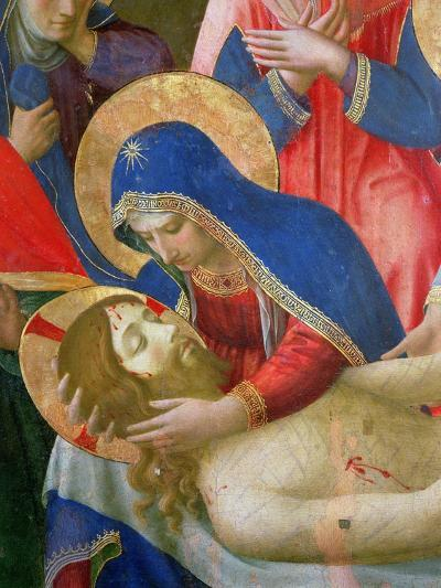 Lamentation over the Dead Christ, 1436-41 (Detail)-Fra Angelico-Giclee Print