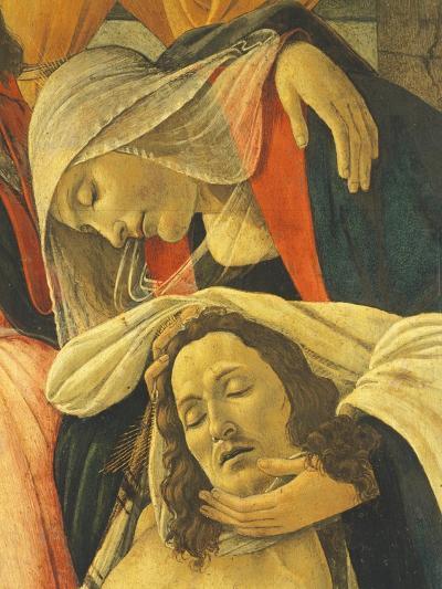 Lamentation over the Dead Christ, C.1490-1500-Sandro Botticelli-Giclee Print