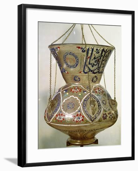 Lamp, from the Mosque of Sultan Hasan, Cairo--Framed Giclee Print