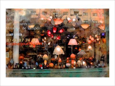 Lamp Store, Paris, France-Nicolas Hugo-Giclee Print
