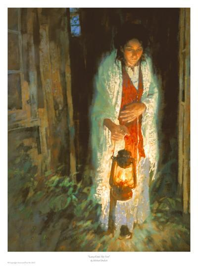 Lamp Unto My Feet-Michael Dudash-Art Print