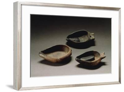 Lamp with Wick Stoppe from Sardinia Region--Framed Giclee Print