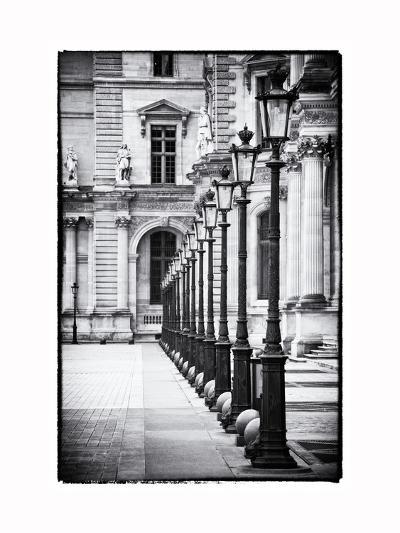 Lamps, the Louvre Museum, Paris, France-Philippe Hugonnard-Photographic Print