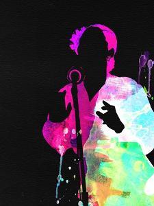 Billie Holiday Watercolor by Lana Feldman