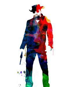 Django Unchained Watercolor by Lana Feldman
