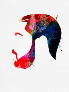Drake Watercolor by Lana Feldman