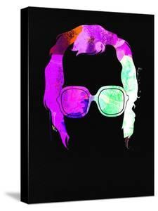Elton Watercolor by Lana Feldman