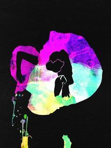 Gaga Watercolor by Lana Feldman