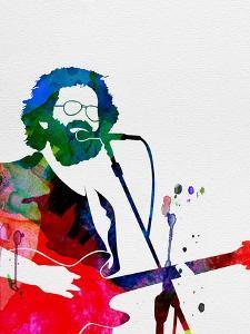 Grateful Dead Watercolor by Lana Feldman