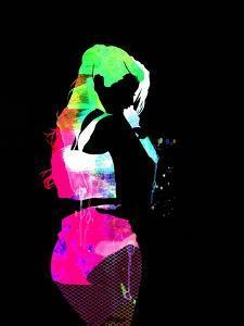 Iggy Watercolor II by Lana Feldman