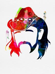 Lemmy Watercolor by Lana Feldman