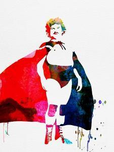 Nacho Libre Watercolor by Lana Feldman