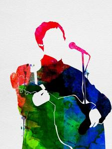 Paul McCartney Watercolor by Lana Feldman
