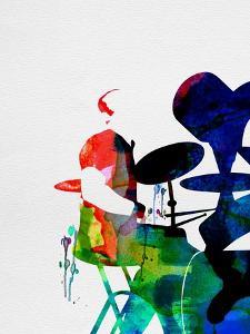 Phil Collins Watercolor by Lana Feldman